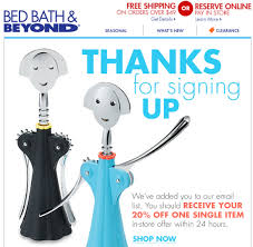 Bed Bath Beyond In Store Coupon All The Stores That U0027ll Send Out A Coupon When You Subscribe
