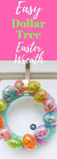 Dollar Tree Decorations For Easter by Easy Dollar Tree Easter Wreath