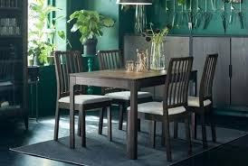 ikea black brown dining table ikea white dining table set sumr info
