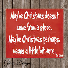 christmas quote christmas decor grinch quote how the grinch