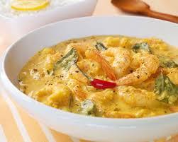 cuisine crevette recette curry de crevettes