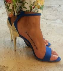 foot script tattoo google search tatty pinterest placement