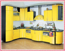 Yellow Kitchen Cabinets - most beautiful colors for kitchen cabinets yellow kitchen cabinets