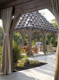 pergola roof ideas patio traditional with planter modern outdoor