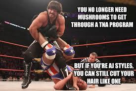 Aj Styles Memes - the meme event tna slammiversary 2013 wrestlecrap the very