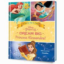 disney u0027s dream big princess belle u0027s special edition personalized