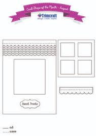 card shape of the month exploding box templates pinterest