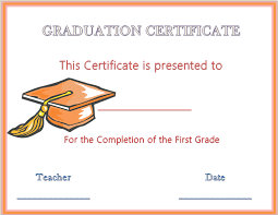 13 graduation certificate templates certificate templates