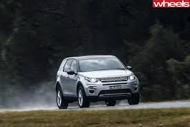 mitsubishi land rover land rover discovery sport 2017 review price specification