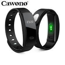 bracelet iphone images Cawono qs80 bluetooth cicret bracelet smart wristband heart rate jpg