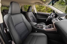 lexus nx key 2017 lexus nx 200t front interior seats motor trend