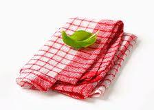 serviette cuisine serviette de thé et blanche de cuisine image stock image
