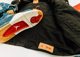 Nike Levis these air 4s are made out of levi s denim maxim