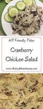 thanksgiving paleo paleo cranberry chicken salad the health nut mama