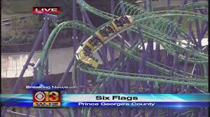 Biggest Six Flags 24 People Rescued From Md Six Flags Roller Coaster Cbs Baltimore