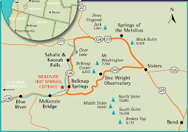 map of oregon springs map of how to get to springs cottage on the