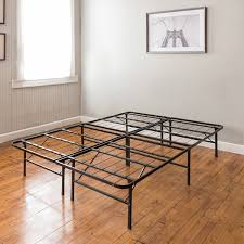 Platform Metal Bed Frame Mattress Foundation Postureloft Hercules Platform 14 Inch Heavy Duty Metal Bed Frame
