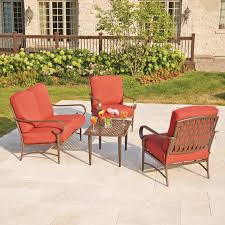 Clearance Patio Table Small Patio Lounge Chairs Small Outdoor Furniture Set Lowes Patio