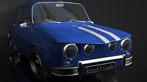renault old renault 8 gordini 3d full hd wallpaper and background 1920x1080