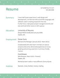 How To Write Hobbies In Resume Free Resume Builder Resume Com