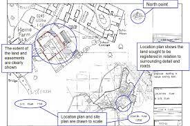 guidance for preparing plans for land registry applications gov uk