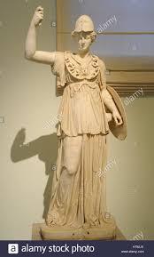 athena goddess of ancient greek religion 2nd century ad statue