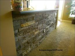electric stone fireplace faux veneer surround ideas faux stone
