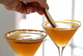 caramel apple martini inspired by charm