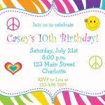 kids birthday party invitations templates invitations templates
