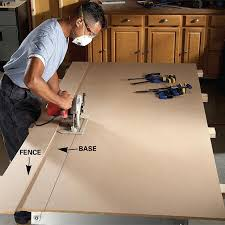 convert circular saw to table saw plywood 4 x8 length cut circular saw table saw or panel saw