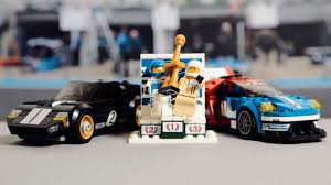 lego cars lego ford announce new set celebrating 50 years of le mans