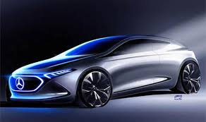 mercedes electric car mercedes to reveal electric car frankfurt motor 2017