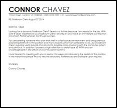 sample accounts payable cover letter example of cover letters for