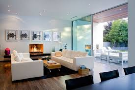 winsome coloring living room design by blue and yellow wall paint