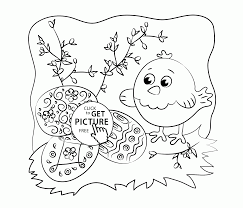 and easter eggs coloring page for kids holidays coloring