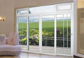 Patio Doors Glass 8 Sliding Glass Patio Doors The Offset Grille Pattern
