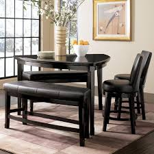 triangle pub table set triangle dining table with bench intended for motivate clubnoma com