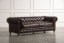 Sofas To Go Leather Winthrop Sofa The Classic Lines Of This Chesterfield Sofa Is One