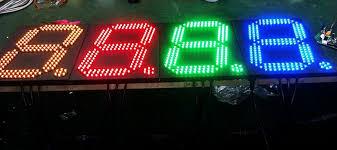 membuat jam digital led besar simple futsal scoreboard how to make it duwi arsana