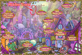 hidden tower items the daily neopets