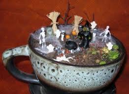 the miniature halloween garden contest winners the mini garden