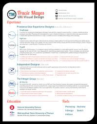 Best Ui Resume by My Resume U2014 Tracie Mayes Porfolio