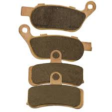 amazon com front and rear sintered brake pads for harley davidson