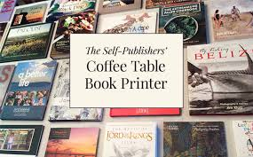 coffee table book publishers the coffee table book printers for self publishers coffee table