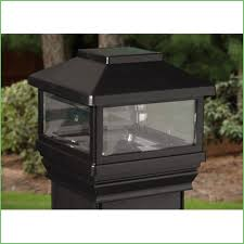 Led Solar Deck Lights - lighting solar powered post lamp fixture solar deck post caps