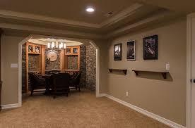 basement adorable basement decoration using light grey basement