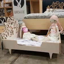 woodland dolls bed twigged design toy dolls bed