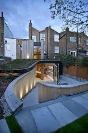 architecture vitorian building and the house extension with
