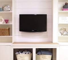 Media Room Built In Cabinets - remodelaholic built ins