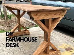 Diy Writing Desk Diy Farmhouse Style Writing Desk Ep 3